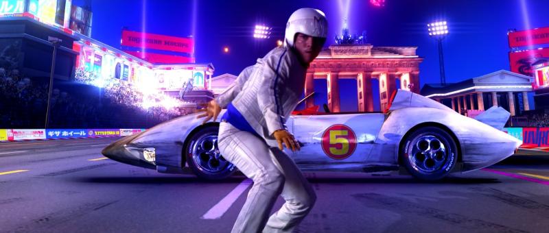 Emile Hirsch in Speed Racer