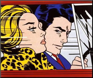 Roy Lichtenstein's In the Car