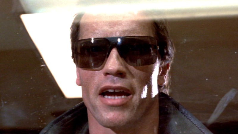 arnie as the terminator